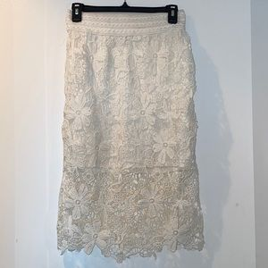 White Lacey Skirt